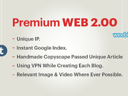 5 Manually Create Premium Web2 Properties With Unique Content