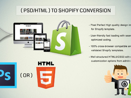 PSD to Shopfiy Theme Development