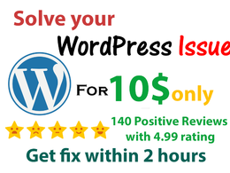 Solve your WordPress website issue ( Fix WordPress Errors)
