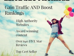 Elite SEO Guest Post Package with Authority Links and Content