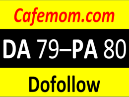 Write And Publish Guest Post cafemom With Dofollow Link