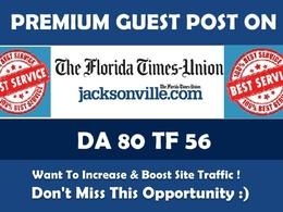 Publish Guest Post on Jacksonville. Jacksonville.com - Dofollow