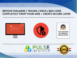 Remove Virus,Malware,Trojans or Malicious code from any type Web