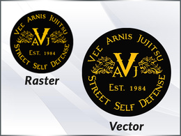 Redraw your existing logo / image as high resolution  VECTOR