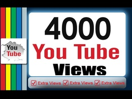 Promote your video and drive 4000+ High Quality YouTube Views