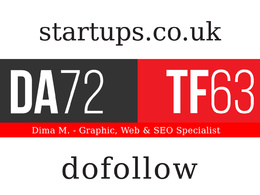 Write and Publish Guest Post On startups.co.uk - DA72, TF63
