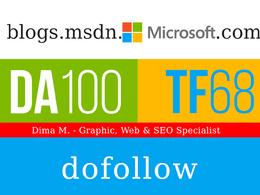 Write and Publish Guest post on Blogs.Msdn.Microsoft.com - DA100