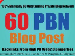 Ranking Solutions - 20 PBN Posts DA26+ TF26+ Boost SEO Rank