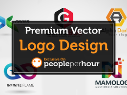 Custom / Bespoke Vector Logo Design (6 Logo Concepts)
