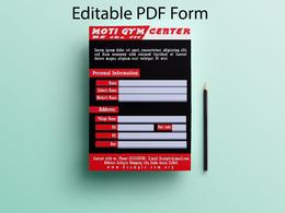 Create Editable PDF form