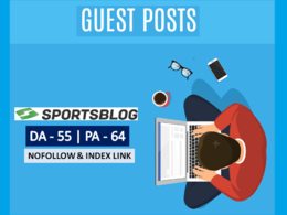 Write And Published Guest Post On Sportsblog.com