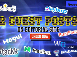 Post your 2 articles On Wn, Buzzfeed, Playbuzz, Minds, Medium...