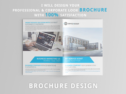 Design a professional & print ready A4 or A5 brochure