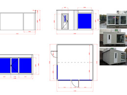 Draw a 2D floor plan or any other drawing in AutoCad