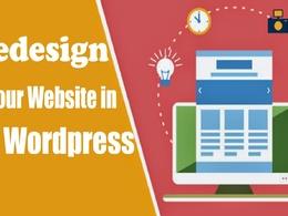 Redesign Website In Wordpress