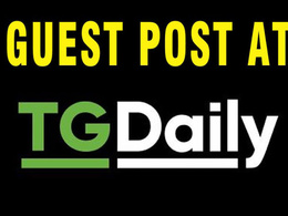 Publish dofollow guest post at tgdaily DA 69 - TGDaily.com