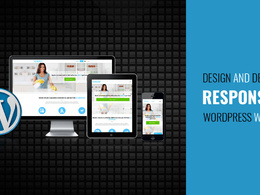 Design&develop responsive seo friendly 5 pages Wordpress website