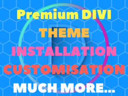 Provide You Divi Installation And Customisation Service