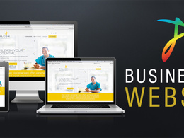 Develop Responsive WordPress Business Website Unlimited Pages