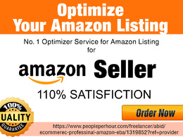 SEO Optimize your Amazon Product Listing
