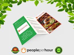 Design awesome Tri-Fold Brochure