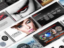 Design a sleek PRO 10 slide powerpoint presentation