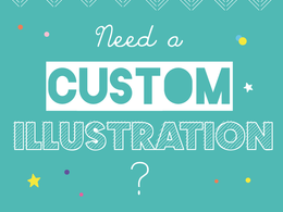 Give you a cool and quirky illustration