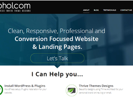 Install WordPress & Thrive Themes Build Website from Scratch.