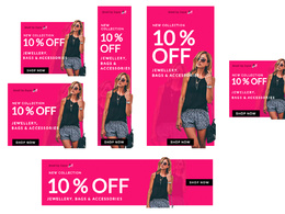 Design HTML5 Banner Ad Set (7 sizes)  - Ad