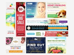 Design your website banner, advertise banner, promotional banner