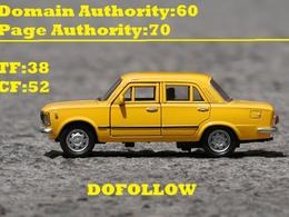 Guest post on Automotive &Car cardomain.com DA60 TF38 Niche blog