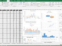 Do Data analysis in Excel (Summaries,Clean,sort &Create Graphs)