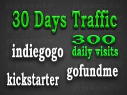Promote your Indiegogo, Kickstarter or GoFundMe campaign