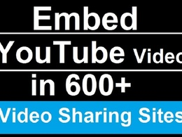 Manually submit your video to 600 video sharing sites