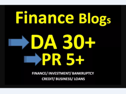 Guest Post On DA30 Finance Blog
