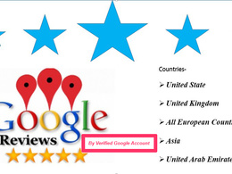 I will Provide 6 Google Review By Verified Account