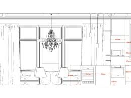 Create 2D interior walls elevation drawings DWG or PDF