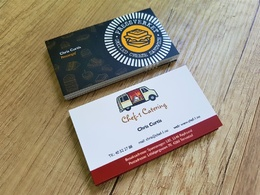 Design Bespoke double sided business cards+Unlimited revisions