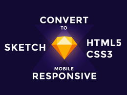 Convert Sketch to Responsive HTML