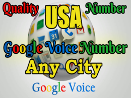 Give you 12 Google Voice number at low price