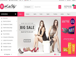 Design responsive website on Wordpress using WooCommerce