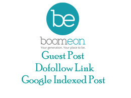 Publish post on boomeon with dofollow link
