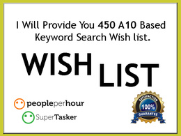 Do 400 wishlist for amazon product ranking