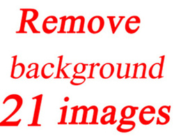 Remove background of 21 photos within 6 hours