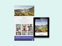 Design and build your 1 page website / landing / holding page