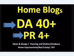 Guest Post On DA35 Home Improvement Blog