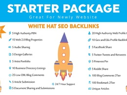 All In One Whitehat SEO Package For Top Rankings