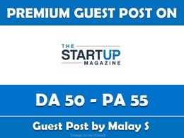 Write and Publish Guest Post on ThestartupMag.com - DA 50
