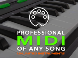 Convert any song to MIDI