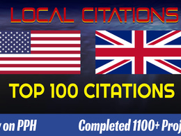 Add Your Business Details On 100 TOP UK OR USA Citations Sites